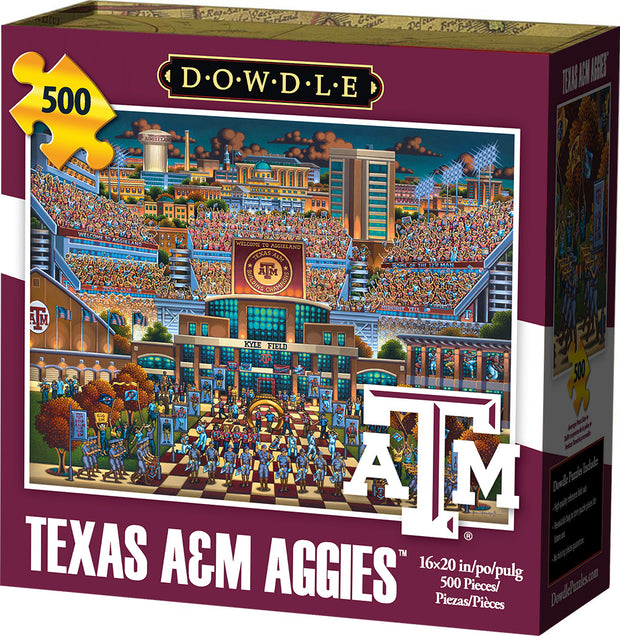 Texas A&M Aggies - 500 Piece