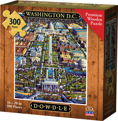 Washington DC Wooden Puzzle