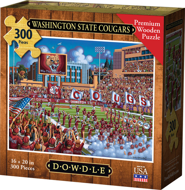 Washington State Cougars - Wooden Puzzle
