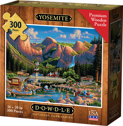 Yosemite National Park Wooden Puzzle