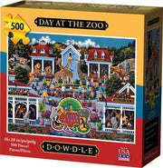 Day at the Zoo - 500 Piece