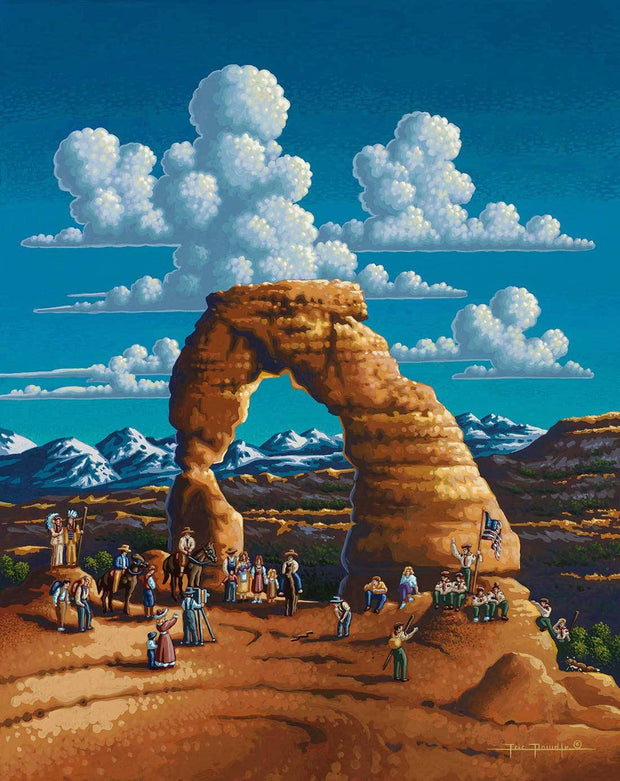 Delicate Arch - Wooden Puzzle