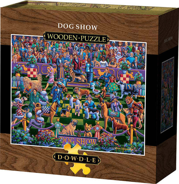 Dog Show Wooden Puzzle