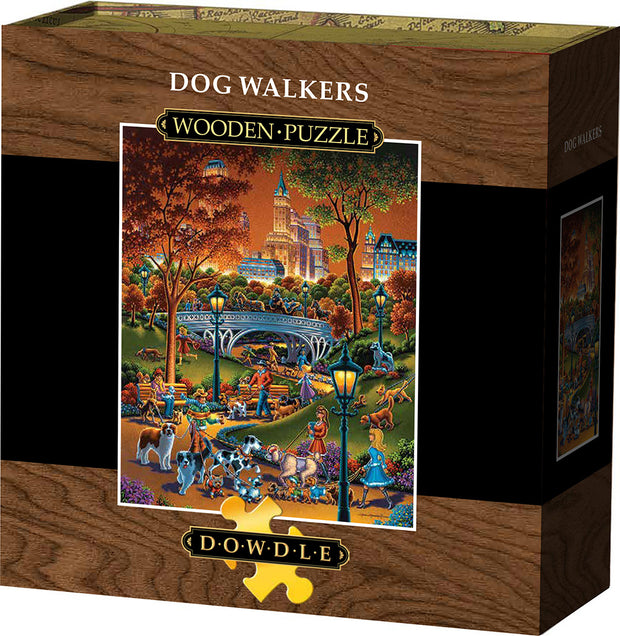 Dog Walkers - Wooden Puzzle