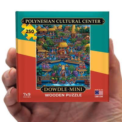 Polynesian Cultural Center - Mini Puzzle - 250 Piece