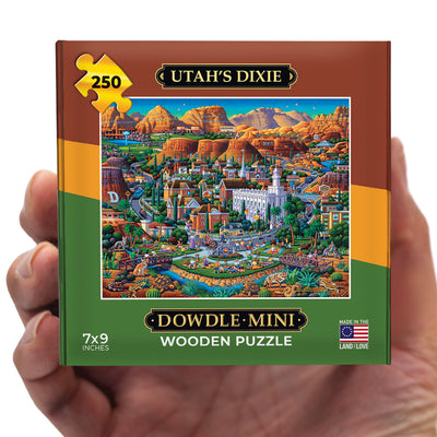 Utah's Dixie - Mini Puzzle - 250 Piece