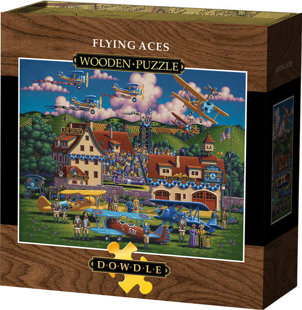 Flying Aces Wooden Puzzle