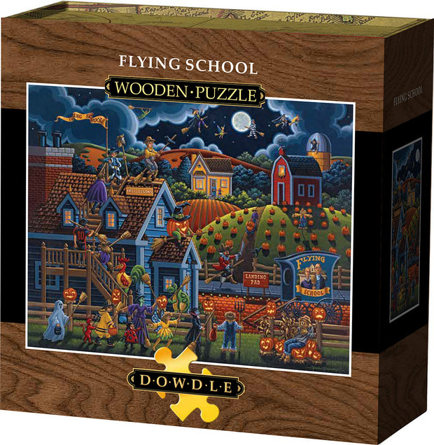 Flying School Wooden Puzzle