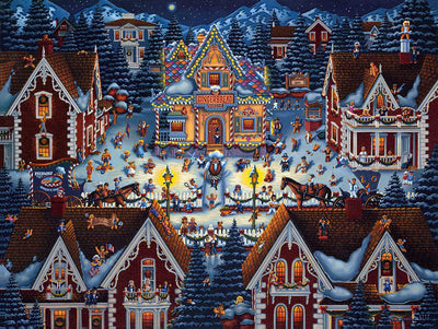Gingerbread House - Fine Art