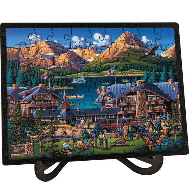 Glacier National Park - Picture Perfect Puzzle™