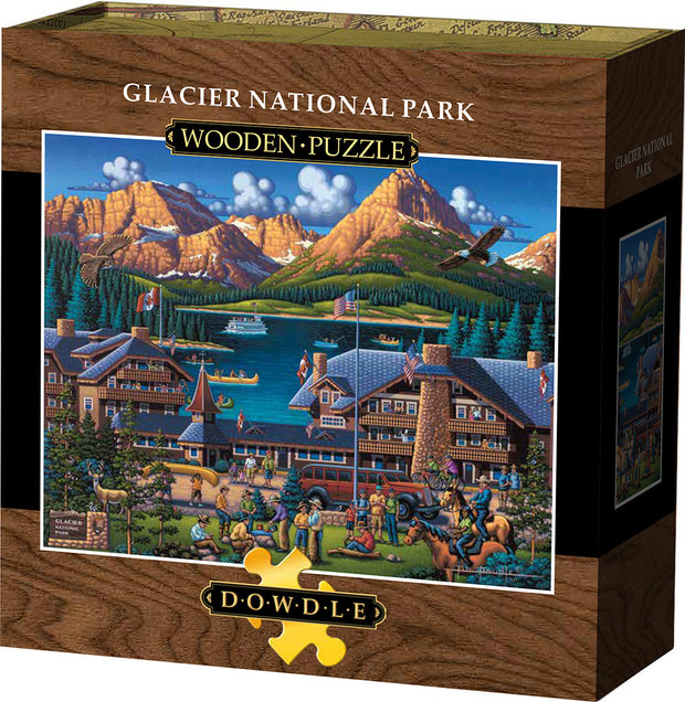 Glacier National Park Wooden Puzzle