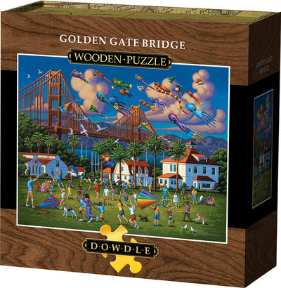 Golden Gate Bridge Wooden Puzzle