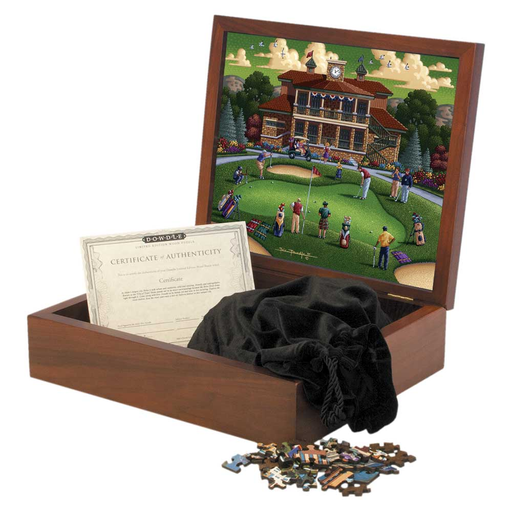 Golf At Thanksgiving Point Wooden Puzzle