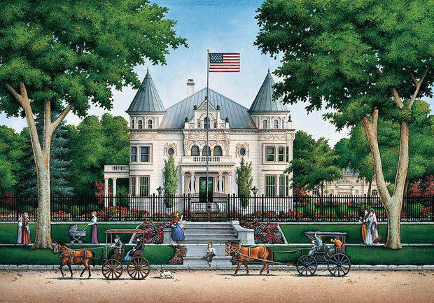 Governor's Mansion - Fine Art