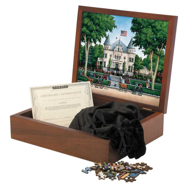 Governor's Mansion - Wooden Puzzle