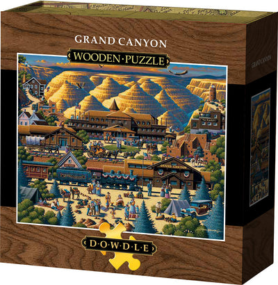 Grand Canyon Wooden Puzzle
