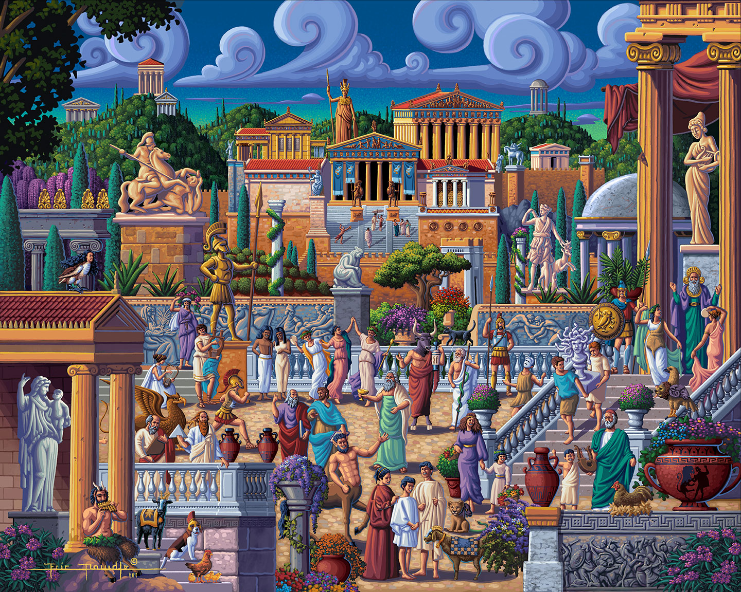 Greece Picture Perfect Puzzle™