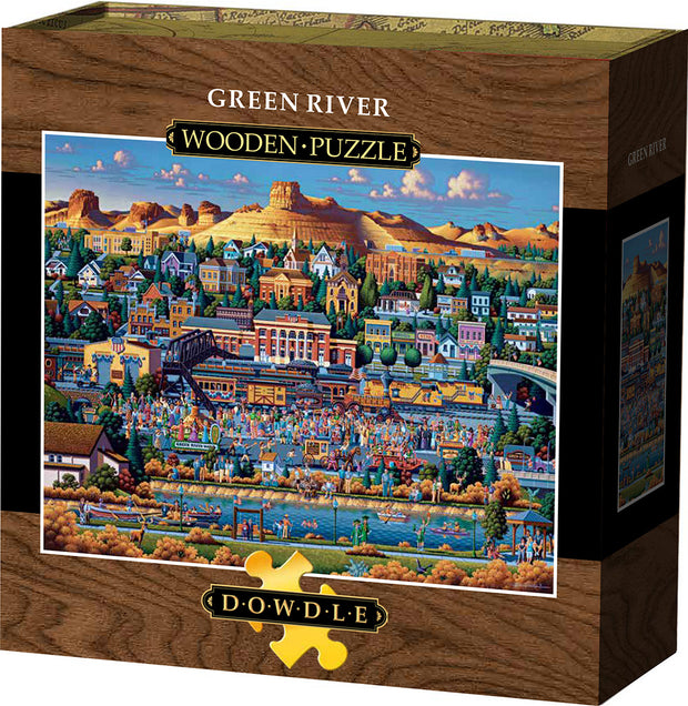 Green River - Wooden Puzzle