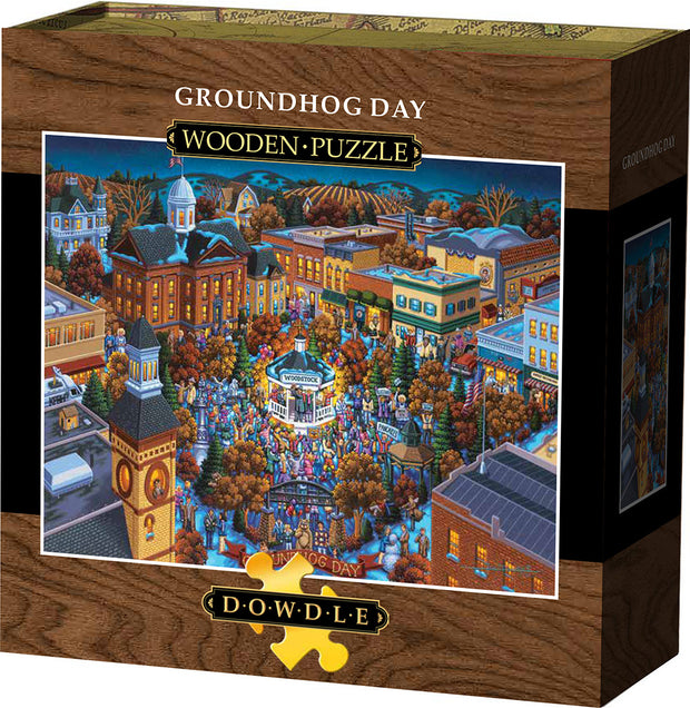 Groundhog Day - Wooden Puzzle