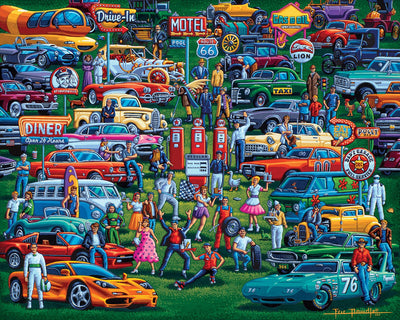 History of Cars - Fine Art