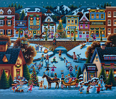 Hometown Christmas - Fine Art