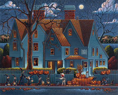 House of Seven Gables - Fine Art
