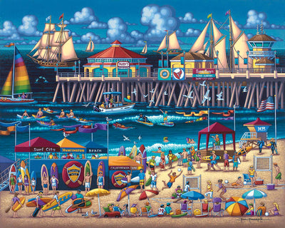 Huntington Beach - Fine Art