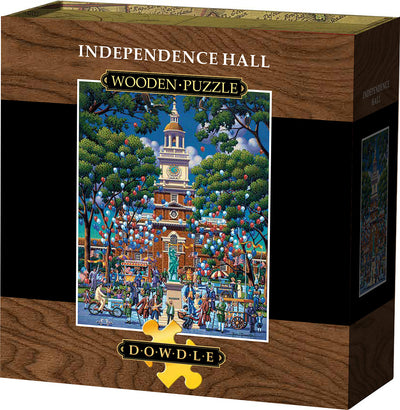 Independence Hall Wooden Puzzle