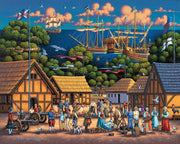 Jamestown - Dowdle Wooden Puzzle