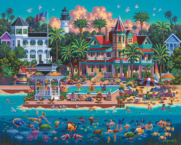 Key West - Dowdle Wooden Puzzle