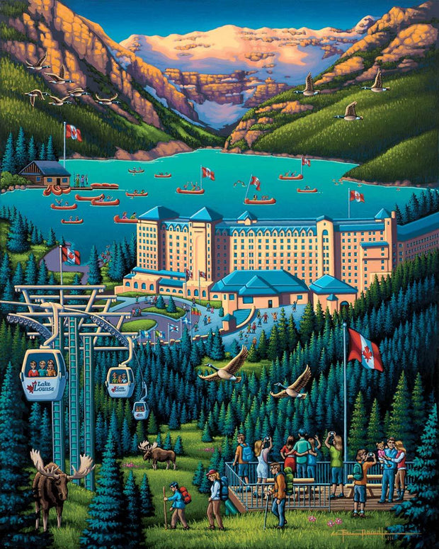 Lake Louise - Dowdle Wooden Puzzle