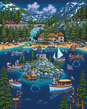 Lake Tahoe - Dowdle Wooden Puzzle