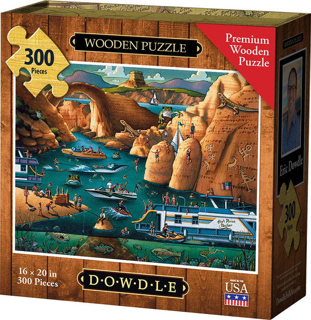 Lake Powell - Wooden Puzzle