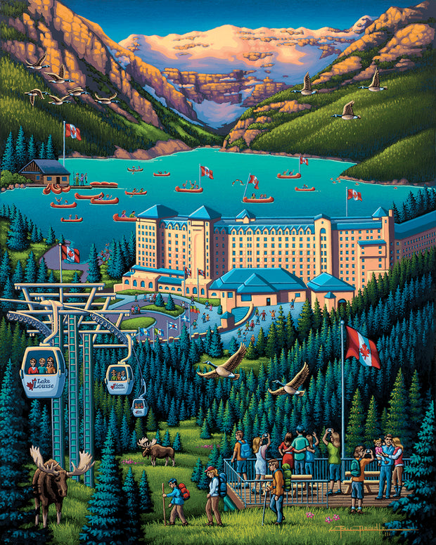 Lake Louise - Fine Art