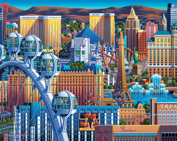 Las Vegas Great Wheel - Fine Art