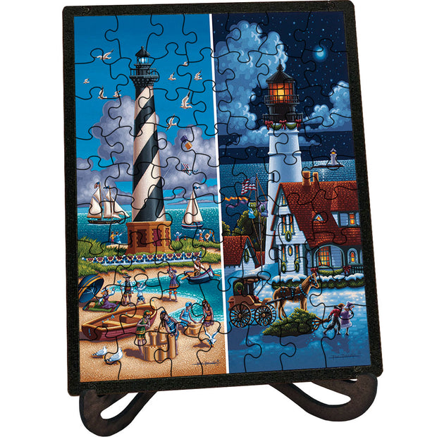 Lighthouses North - Picture Perfect Puzzle™