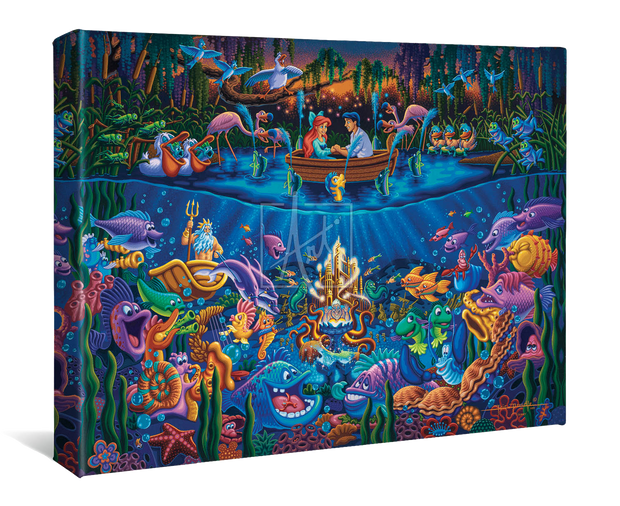 "The Little Mermaid Part of Your World – 11"" x 14"" Gallery Wrap Canvas"