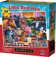 Little Red Hen - 100 Piece
