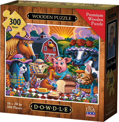 Little Red Hen - Wooden Puzzle