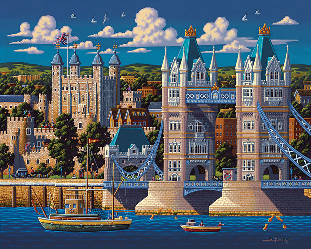 London Tower Bridge Fine Art