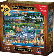 Mackinac Island - Dowdle Wooden Puzzle
