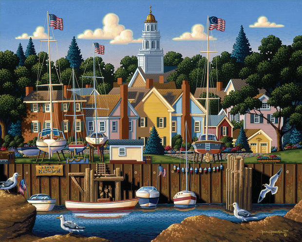 Marblehead - Dowdle Wooden Puzzle