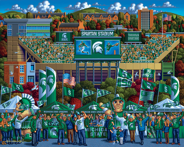 Michigan State Spartans - Fine Art