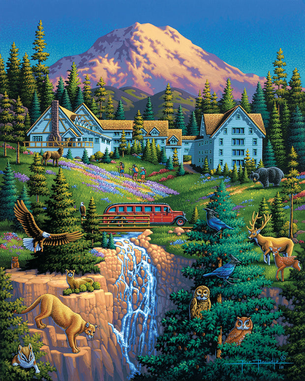 Mount Rainier - Fine Art