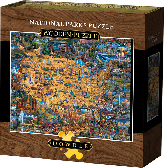 National Parks - Wooden Puzzle