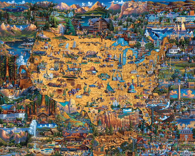 National Parks - 100 Piece