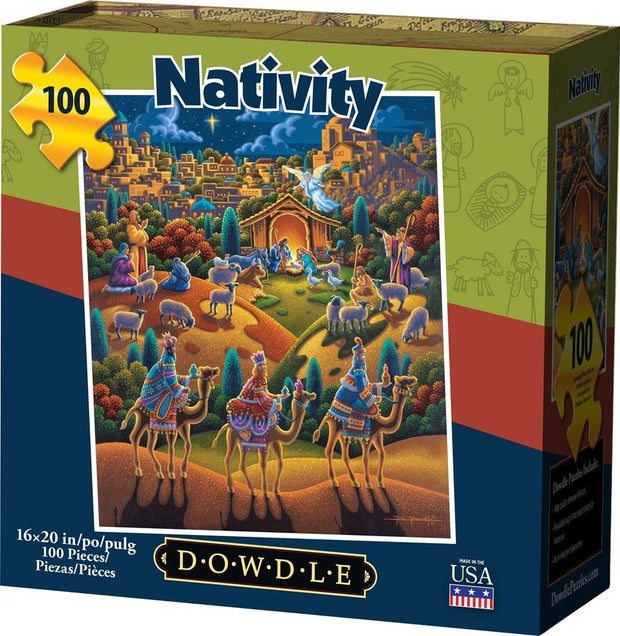 Nativity - 100 Piece