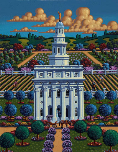 Nauvoo Temple - Fine Art