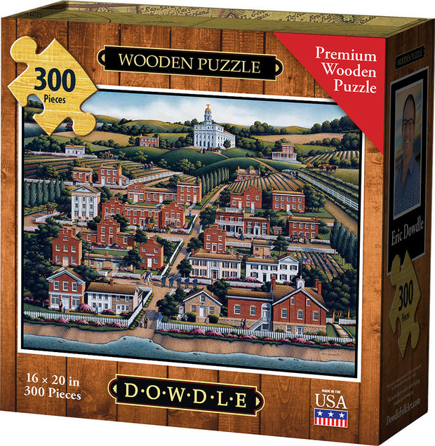 Nauvoo - Wooden Puzzle