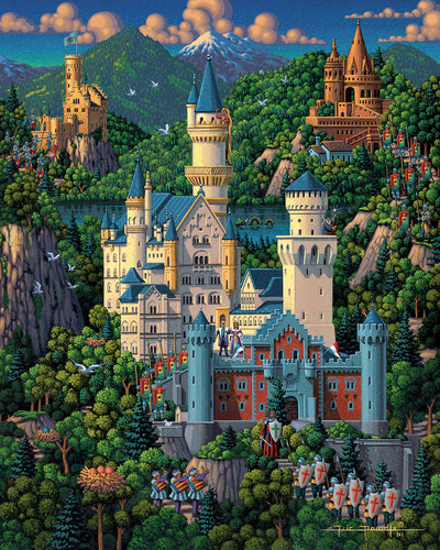Neuschwanstein Castle Fine Art